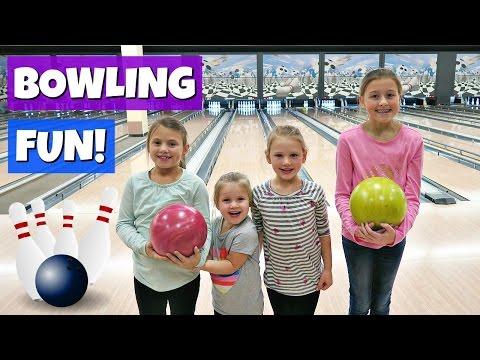 FAMILY FUN | BOWLING & GYMNASTICS!