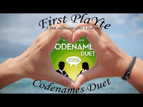 First PlaYte - Codenames Duet