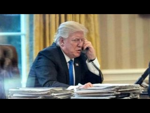Press runs leaked Trump calls
