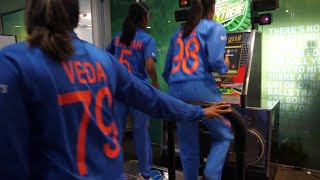 India get into the groove! | Dance Dance Revolution | Women's T20 World Cup