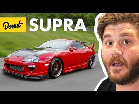 Die Geschichte des Toyota Supra