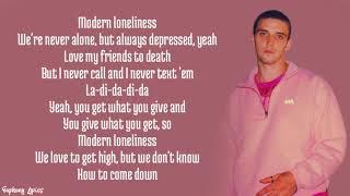 Lauv - Modern Loneliness (Lyrics) - YouTube