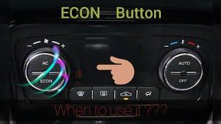 ECON Button :- Advantage & Disadvantage !!!     DButtonECON