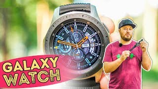 Смарт-часы Samsung Galaxy Watch 42mm LTE Rose Gold (SM-R810NZDA) от компании Cthp - видео 2