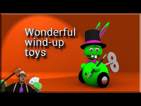 Juguetes de Cuerda   Mechanical Toys