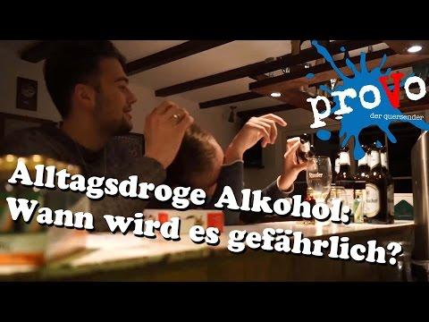 Wie die trinkende Frau zu behandeln