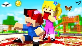 Minecraft Kindergarten - MY GIRLFRIEND BIT MY HEAD OFF!