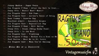 50 Piano Bar, Ragtime Songs (Full AlbumÁlbum Completo) Vol. 2, Honky Tonk