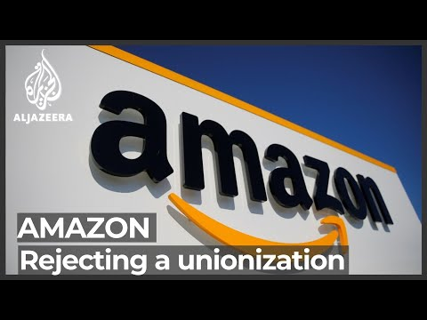 Amazon workers in Alabama vote against unionising