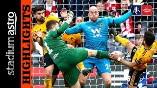 Bristol City 0 - 1 Wolves   FA Cup   Astro SuperSport