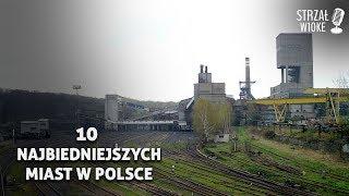 10 Najbiedniejszych miast w Polsce