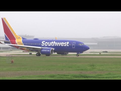 Southwest Airlines is leaving New Jersey's Newark Liberty International Airport at a time when the carrier has canceled dozens of flights a day because of the grounding of the Boeing 737 Max. (July 25)