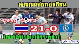 """คอมเมนต์ชาวอาเซียนหลัง""""ไทย 21-0 นอร์เธิร์น มาเรียนา""""ฟุตบอลชิงแชมป์เอเชีย ยู 19 รอบคัดเลือก"""
