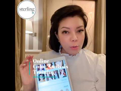 Online Color Analysis Training at Sterling Style Academy - YouTube