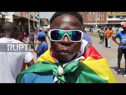 Zimbabwe: 'We are really happy!' Harare residents react to Mugabe's resignation