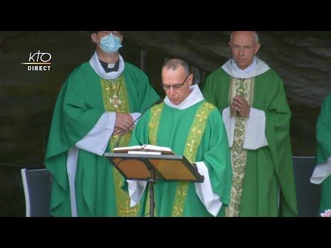 Messe de 10h à Lourdes du 1er août 2021