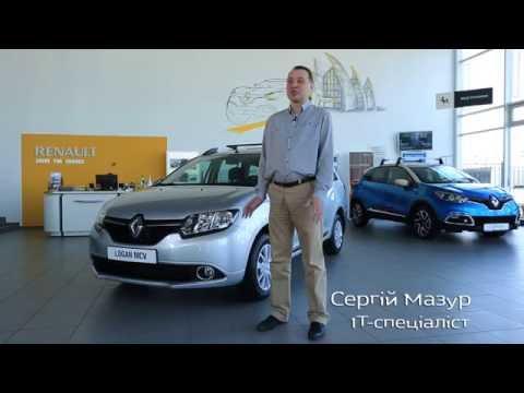 Renault Logan Mcv Универсал класса B - тест-драйв 4