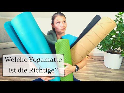 Welche Yogamatte ist die Richtige? - rutschige Hände und Füße adé 👋