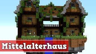 Minecraft Mittelalter Haus Bauen Vid - Minecraft hauser zum nachbauen mittelalter