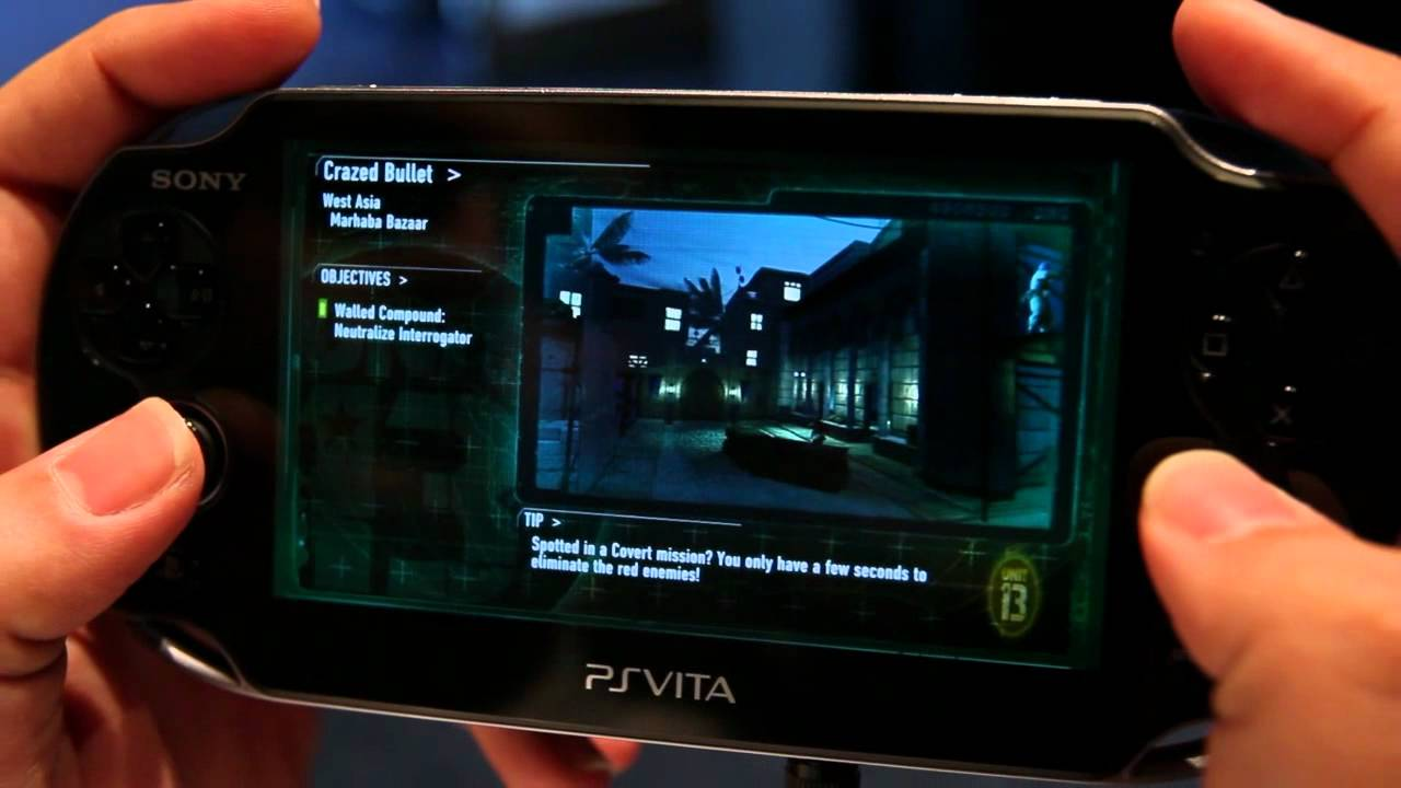 Unit 13's Stealth Gameplay On PlayStation Vita