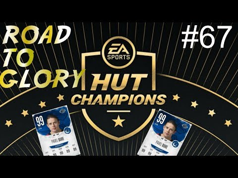HUT Champions-  ROAD TO GLORY E67  NHL 18 Ultimate Team