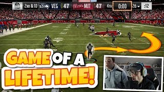 THIS IS THE SINGLE CRAZIEST GAME OF MADDEN THAT YOU'LL EVER WATCH... Madden 19 Packed Out #19