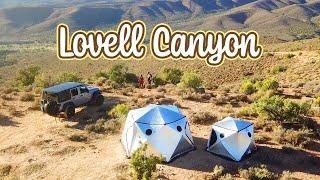 Lovell Canyon Camping - Southern Nevada - October 2020