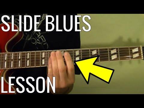 SLIDE BLUES Guitar - Easy Lesson