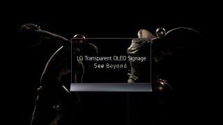 See Beyond, LG Transparent OLED Signage (Teaser ver.)