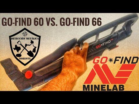 Diferencias entre Minelab Go-find 60 y Go-Find 66 - Detección Metálica Noreste