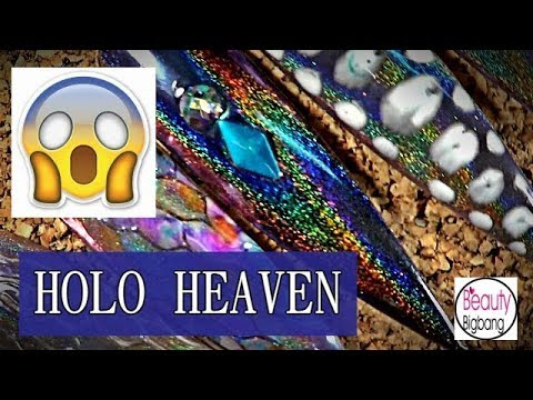 Peacock HOLO Pigment!!! HOLO HEAVEN LADIES!!! OMG!!!