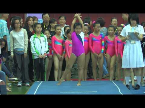 全港小學體操邀請賽 女子自由體操 44