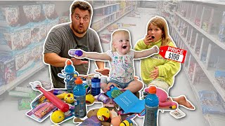 BUYING EVERYTHING our Adopted Daughter TOUCHES!