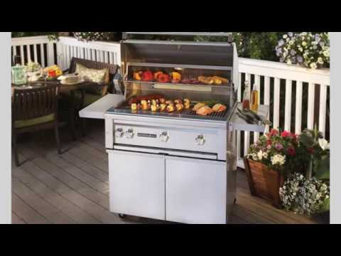 Sedona By Lynx 36-Inch Natural Gas Grill On Cart With ProSear Burner and Rotisse