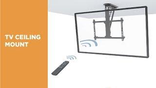 Motorized Flip Down TV Ceiling Mounts - PLB-M05 Series