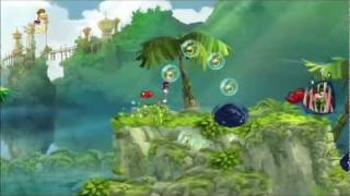 Rayman Origins (1080i HD) Walkthrough Part 1 - It