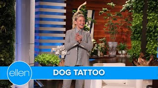 Which Staff Member Has a Dog Tattoo on Their Thigh?