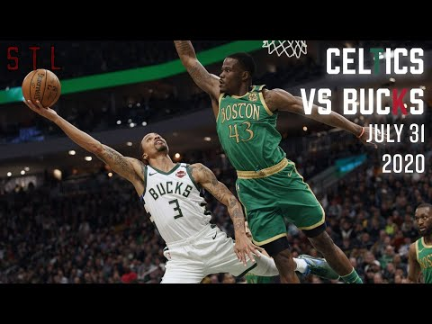 Celtics vs Bucks HIGHLIGHTS From Full Game | NBA July 31st 2020