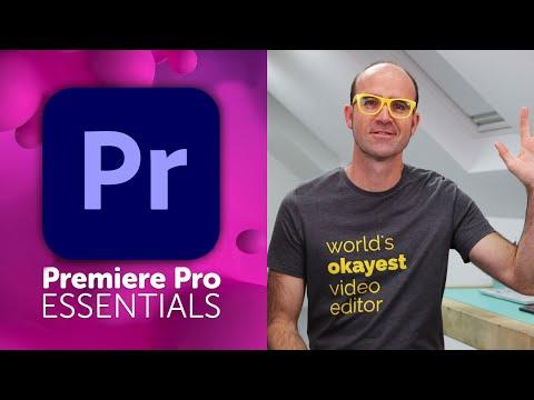 Free Adobe Premiere Pro Essentials Tutorial Course - Video Editing Basics Coupon