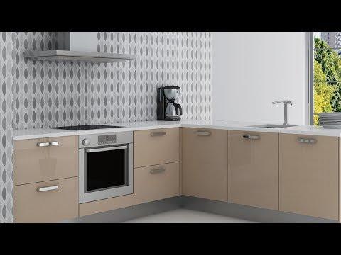 Decorar la cocina con papel pintado