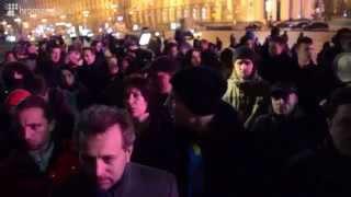 Как начинался Майдан в Киеве -  21 ноября 2013. История!