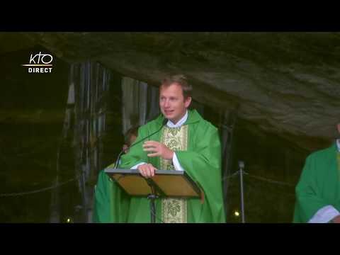Messe à Lourdes du 2 Juillet 2020