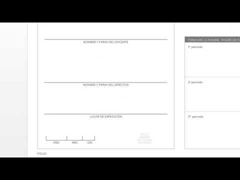 Boletas De Evaluación 2019 Acordes Al Acuerdo 11 03 19