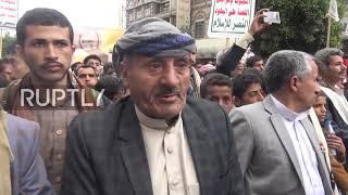 Jemen: Tysiące protestuje przeciwko blokadzie i zamknięciu lotniska w Sanie