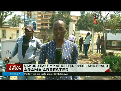 Nakuru West MP Samuel Arama arrested by EACC detectives