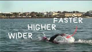 3 Ways To Change Your Stroke For Faster Open Water Swimming