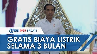 Jokowi Umumkan Gratis Tarif Listrik 450 VA dan Diskon 50% untuk 900 VA selama 3 Bulan