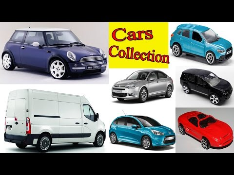 Cars Collection  – Colección de Autos - Street Vehicles – Canal Block 6
