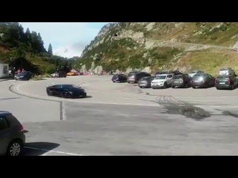 Zerlegter Lamborghini