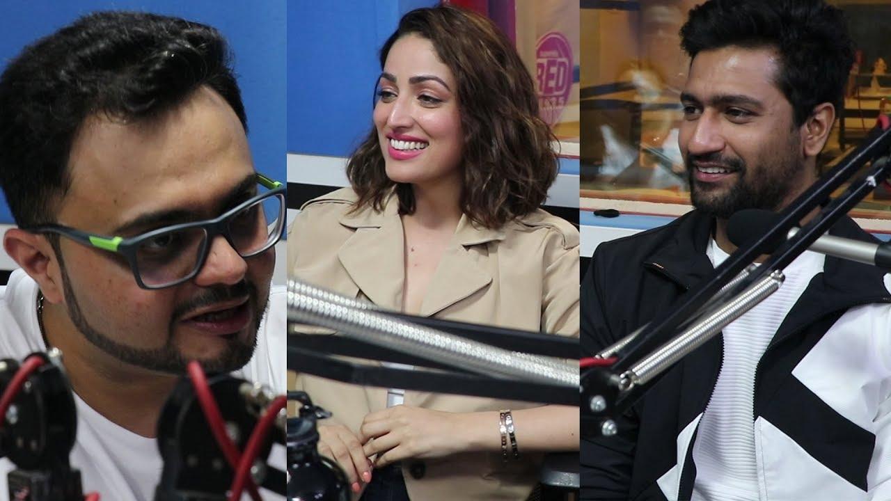 Vicky Kaushal & Yami Gautam with RJ Rishi Kapoor | Red FM | URI